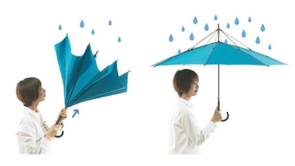 Độc đáo dù-lộn-ngược từ sự sáng tạo của người Nhật