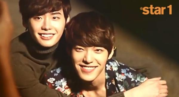 Kim Woo Bin và Lee Jong Suk