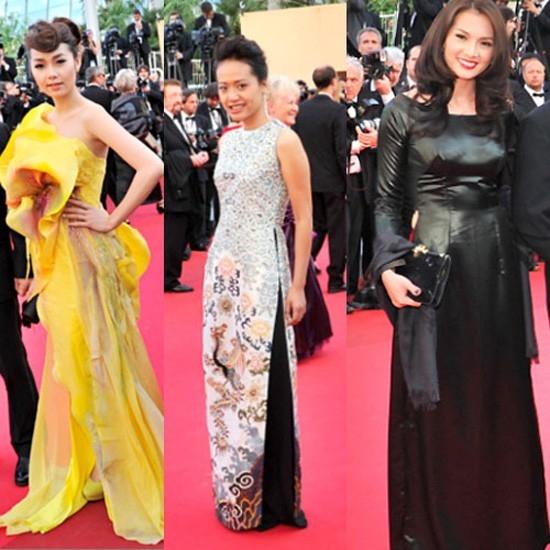 Các kiều nữ xinh đẹp sải bước trên thảm đỏ Cannes 2011 nhưng không gây được sự chú ý. - Tin sao Viet - Tin tuc sao Viet - Scandal sao Viet - Tin tuc cua Sao - Tin cua Sao