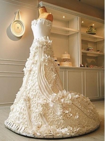 6 bánh cưới ấn tượng trên thế giới