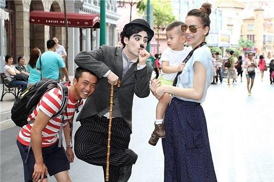 Bé Subeo là niềm hạnh phúc lớn của Hà Hồ - Cường Đola.