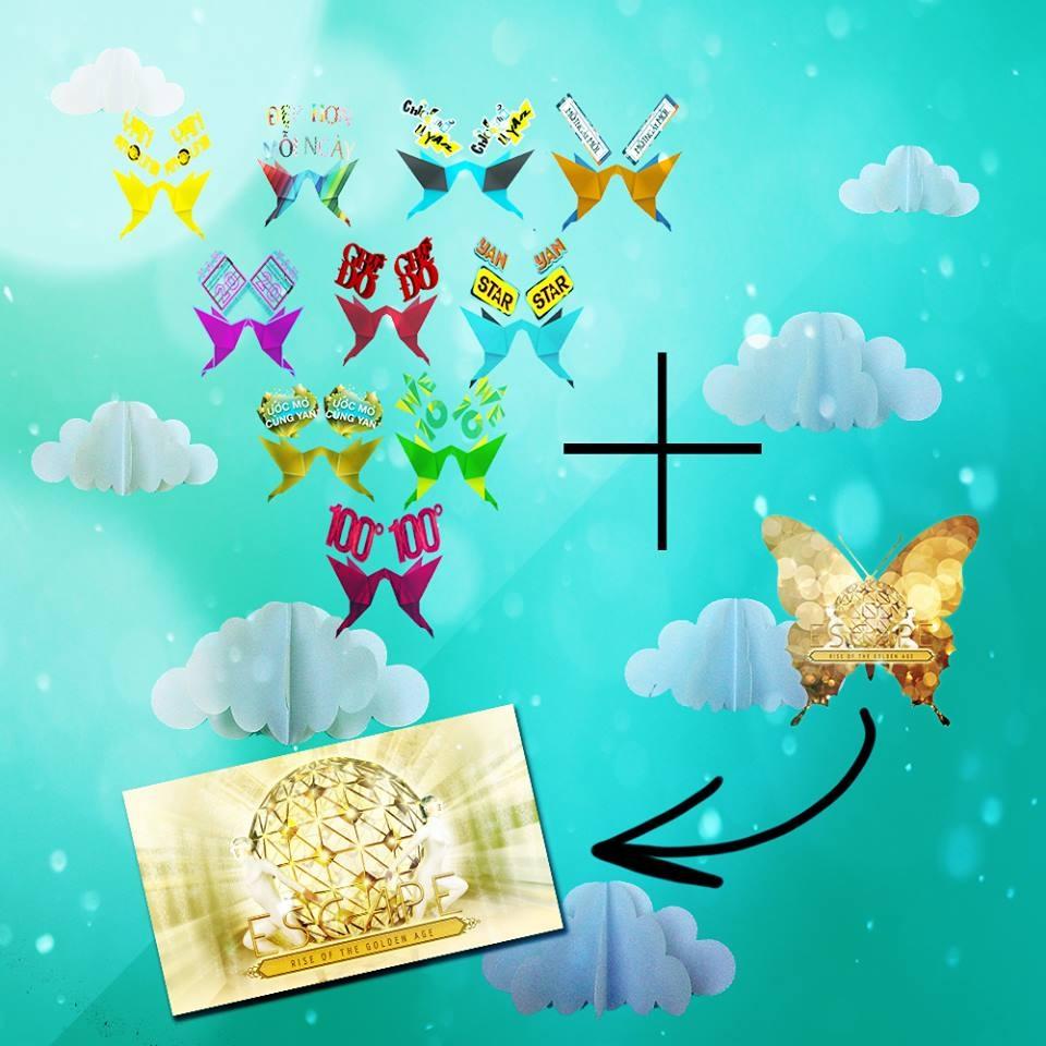 Sưu tập bướm YAN – Nhận quà liền tay