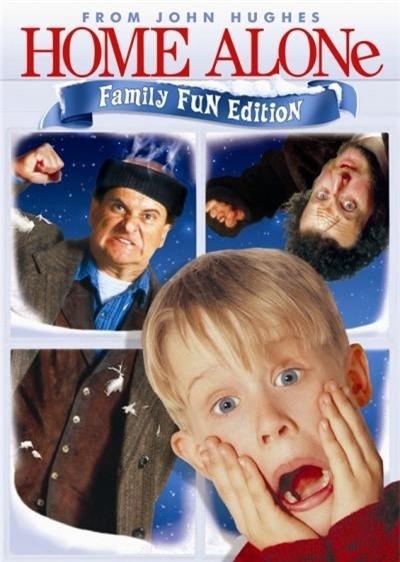 Macaulay Culkin trong phim Ở nhà một mình phần 1.