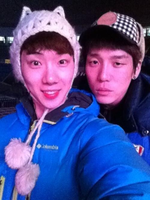 Jo Kwon và Changmin (2AM)