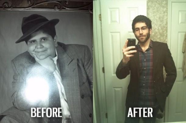 """Những bức ảnh lột xác """"before- after"""" ngoạn mục."""