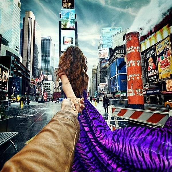 """Bộ ảnh """" Nắm tay em đi khắp thế gian"""" tiếp tục khuấy đảo cộng đồng mạng."""