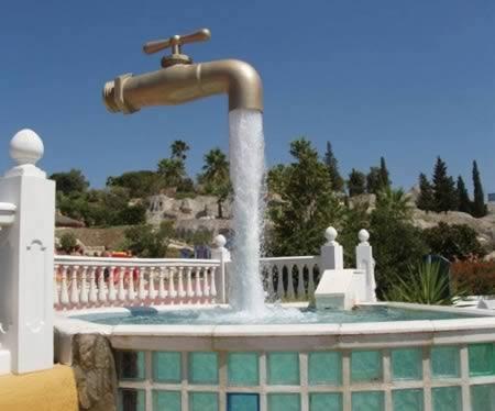 Những đài phun nước lạ mắt trên thế giới