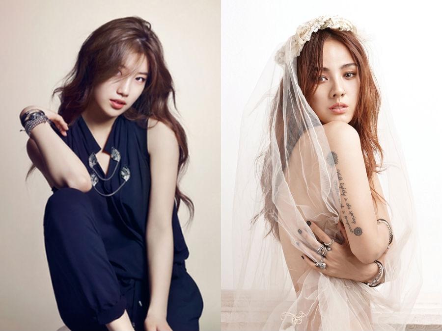 Lee Hyori là hình mẫu lý tưởng mà Suzy muốn hướng tới