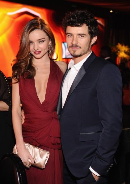 Miranda và Orlando từng là cặp đôi đẹp của làng giải trí Mỹ.