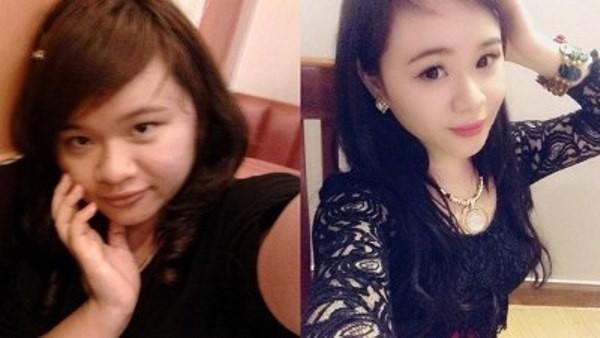Nguyễn Lê Kim Khánh (sinh năm 1995) tại An Giang gây tò mò cho dư luận khi cho biết cô đã giảm 20kg sau 3 tháng.