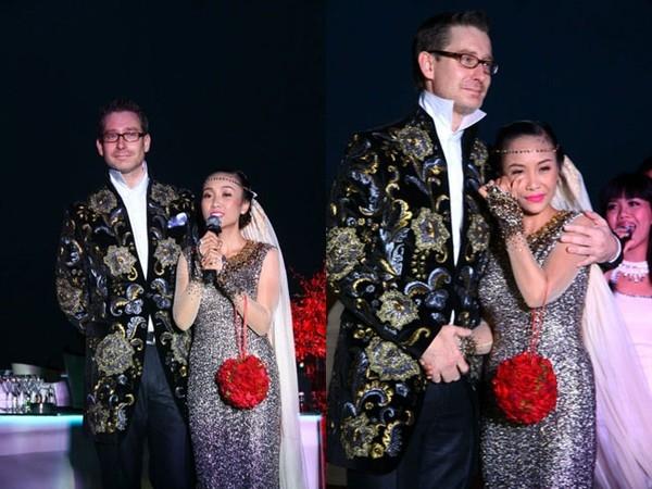 Đoan Trang rơi nước mắt hạnh phúc trong ngày lấy chồng