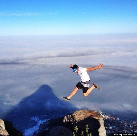 Choáng ngợp với địa hình hiểm trở của đỉnh núi Đầu Sư Tử