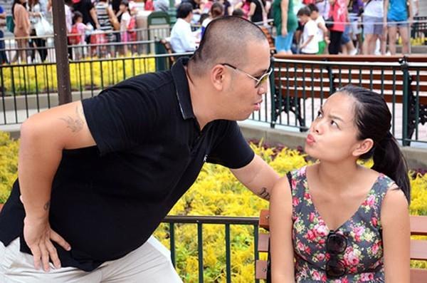 """Cặp đôi """"người thon thả - kẻ mũm mĩm"""" này đã bên nhau được 10 năm trước khi chính thức kết hôn vào năm 2012 và có với nhau cô con gái Bella."""