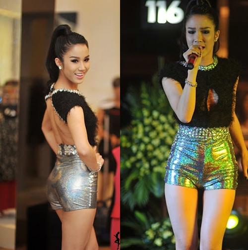 Sao Việt với mốt quần chẽn ngắn - Tin sao Viet - Tin tuc sao Viet - Scandal sao Viet - Tin tuc cua Sao - Tin cua Sao
