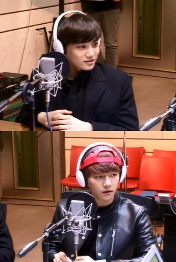 Kai và Baek Huyn