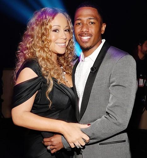 Vợ chồng Mariah Carey - Nick Cannon.