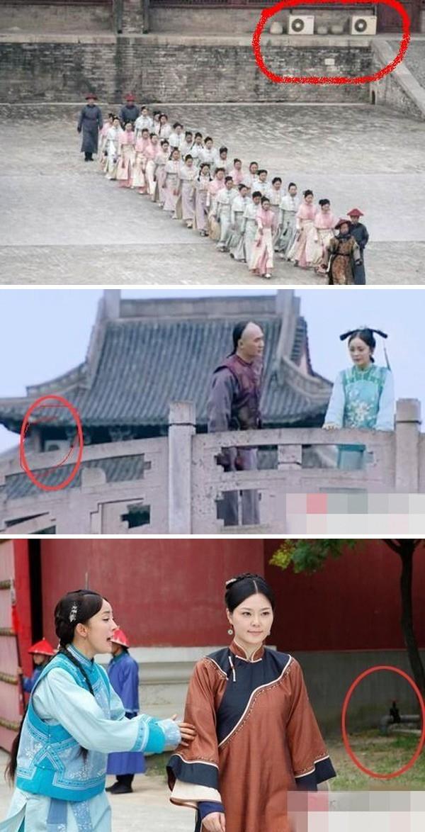 Máy lạnh xuất hiện từ thời nhà Thanh? Không những thế, trong cung đình triều Thanh cũng có cả vòi nước! Cảnh trong phim Cung tỏa tâm ngọc.