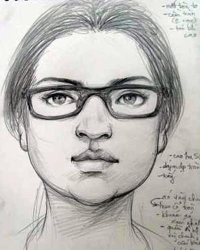 Cảnh sát phác họa chân dung nghi can bắt cóc.