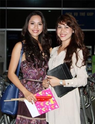Chị gái của Á hậu Hoàng My là Hoàng Yến - bạn gái hiện tại của người mẫu Trương Nam Thành.