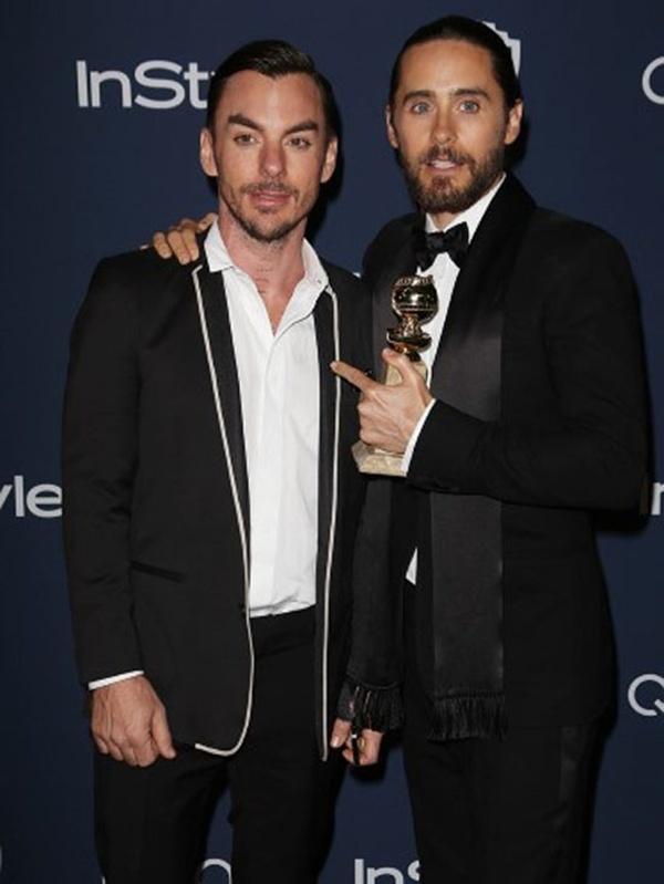 Jared Leto và anh trai Shannon.