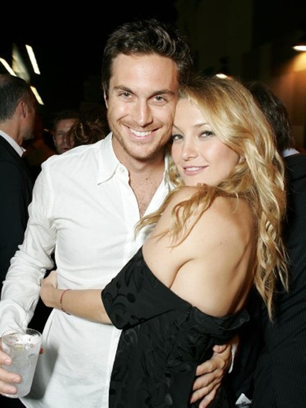 Kate Hudson và anh trai Oliver Hudson.