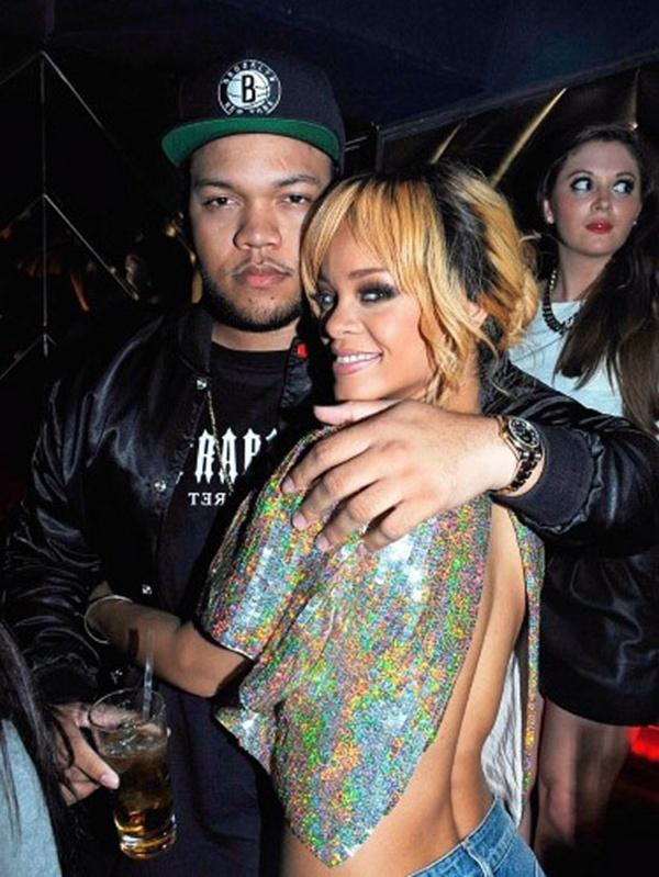Rihanna và anh trai Rorrey Fenty.