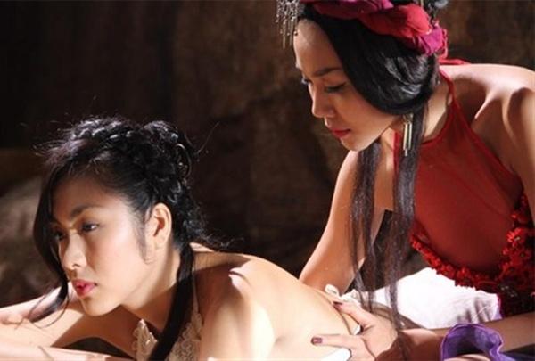 Thanh Hằng không thực sự xuất sắc trong diễn xuất nhưng đổi lại có sức hút nhờ ngoại hình đẹp mắt