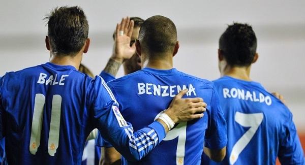 Ronaldo và các đồng đội