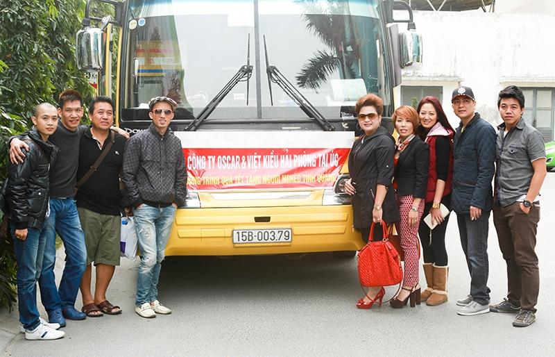 Đoàn từ thiện của công ty Oscar và hội đồng hương Việt kiều Hải Phòng tại Úc