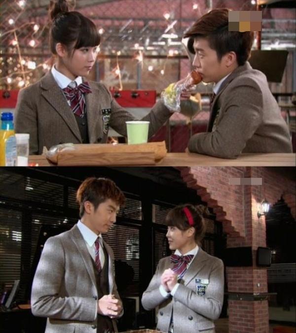 IU và Wooyoung