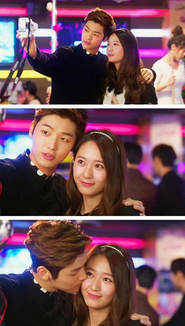 Krystal vàKang Min Hyuk
