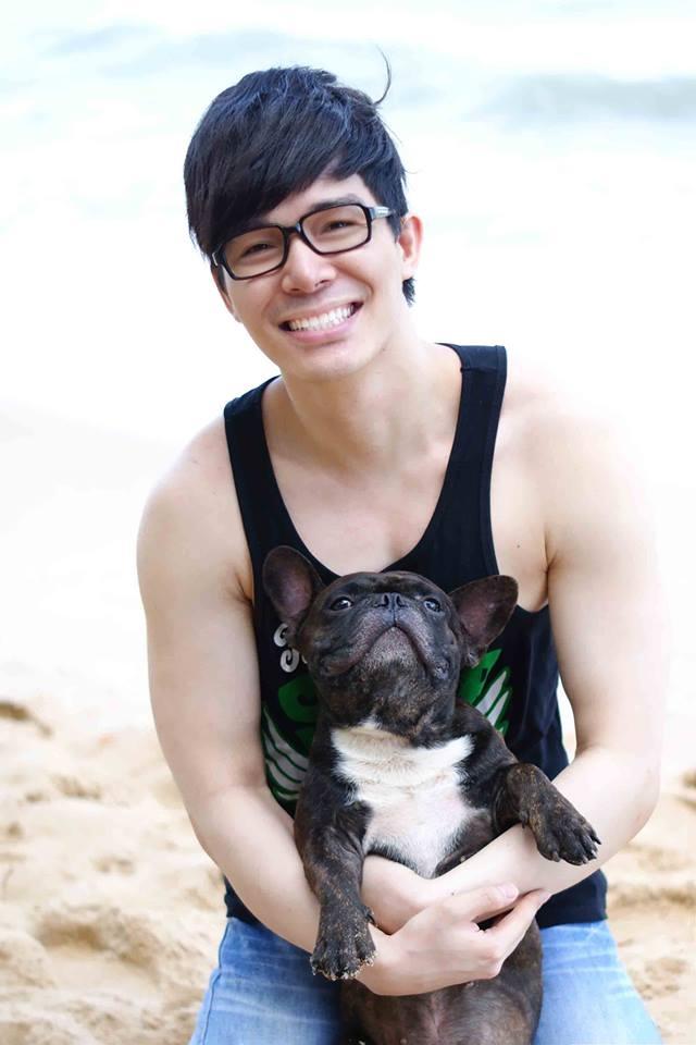 Gru một chú cún cưng khác của Nathan Lee, anh đang để lại ở Phú Quốc cùng mẹ. Hầu hết các chú cún của Nathan Lee đều là do nam ca sĩ mua về từ Thái Lan. - Tin sao Viet - Tin tuc sao Viet - Scandal sao Viet - Tin tuc cua Sao - Tin cua Sao