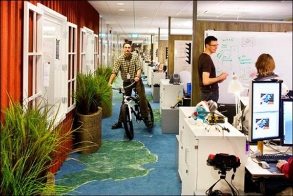 Góc phòng làm việc của Microsoft