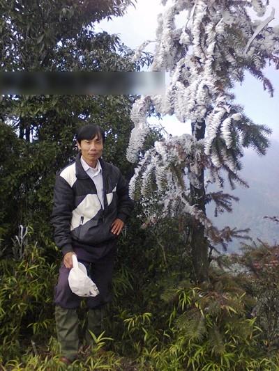 Hình ảnh băng tuyết kì ảo ở Nghệ An