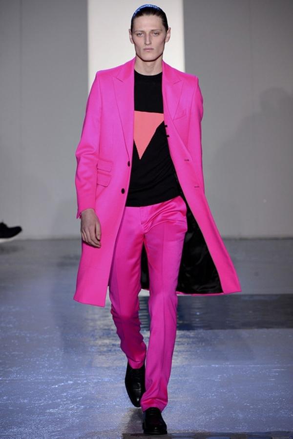 Mugler Fall 2013 Menswear