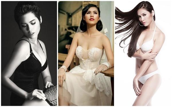 Dù bikini hay những bộ đầm cúp ngực, Hoàng My luôn phô diễn đường cong nuột nà và sexy. Cùng với số đo khá chuẩn cùng tạo hình nóng bỏng, gợi cảm, Hoàng My trở nên cuốn hút hơn bao giờ hết.