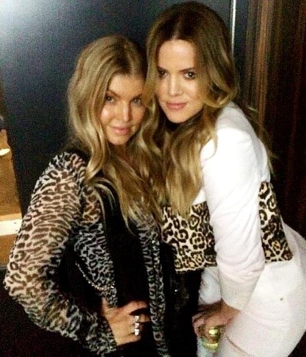 Fergie và Khloe Kardashian trông rất hợp nhau , điều này trở nên quá hoàn hảo.