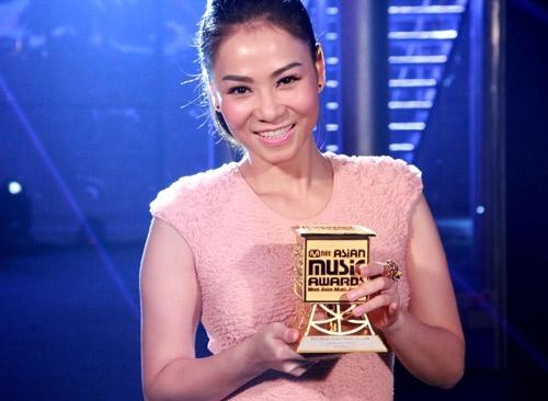Giải thưởng Nghệ sỹ xuất sắc nhất châu Á mà Thu Minh đoạt được ở MAMA 2013 không to tát như nhiều người vẫn tưởng