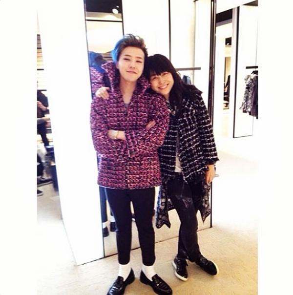 G-Dragon với phong cách thời trang mới của mình