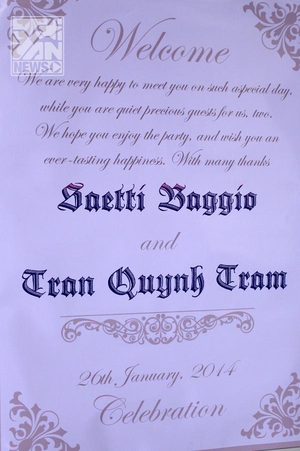 Hôm nay (26/1) Baggio bất ngờ cưới vợ là cô người yêu xinh xắn - Quỳnh Trâm