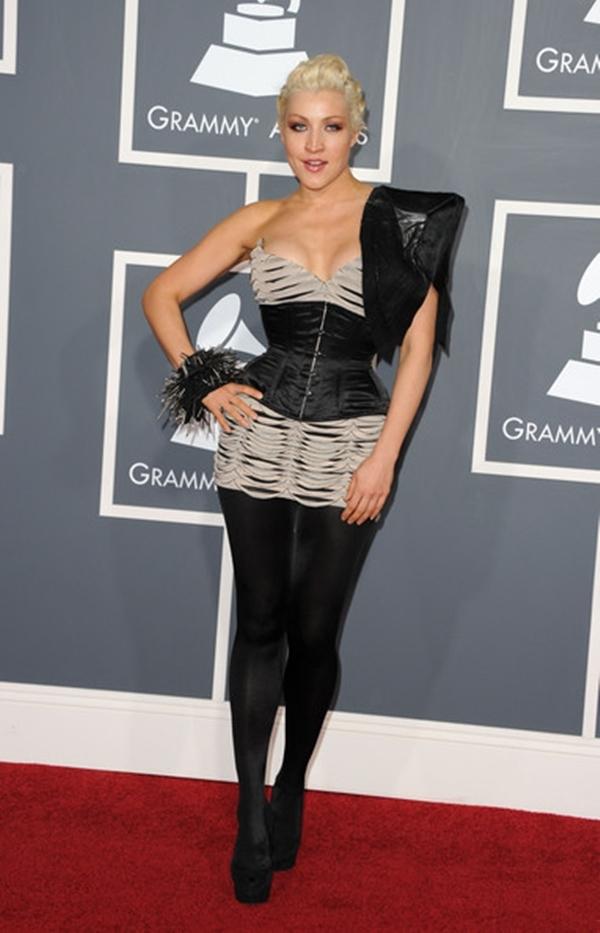 Sasha Gradiva trông giống như một bộ xương vào năm 2011.