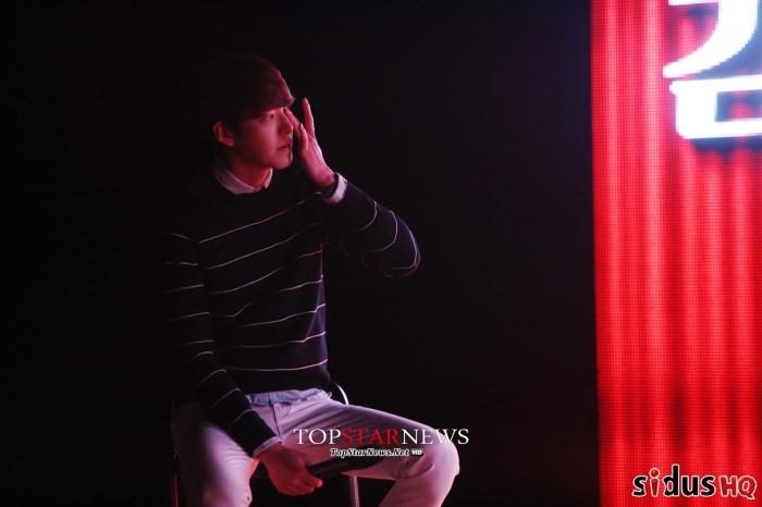 Kim Woo Bin xúc động trước những tình cảm của fan dành cho mình