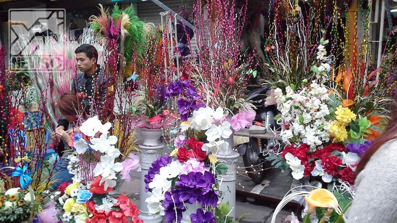 [Tết 2014] Rộn rã đón Tết khu phố cổ Hà Nội