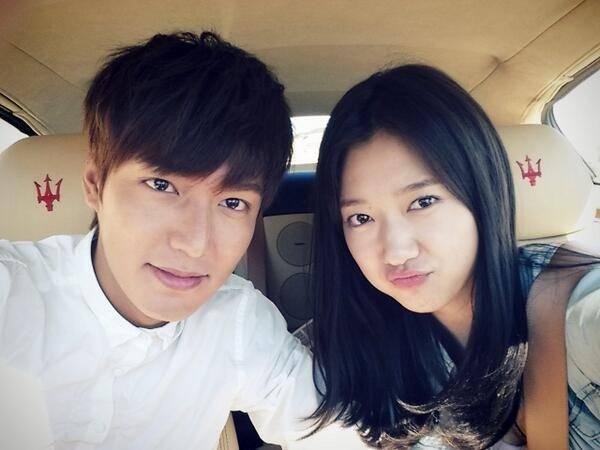 Truyền thông đồn rằng Lee Min Ho và Park Shin Hye đã hẹn hò được 2 tháng