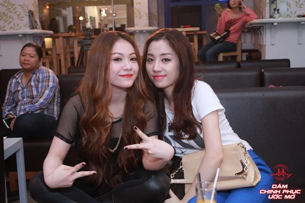 Ca sĩMiAvàDJ Bee Tâmđã có một tình bạn đẹp trong suốt cuộc thi.