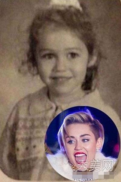 Miley Cyrus với đôi mắt to tròn đặc trưng