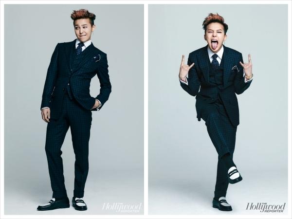 G-Dragon xuất hiện lôi cuốn trong The Hollywood Reporter