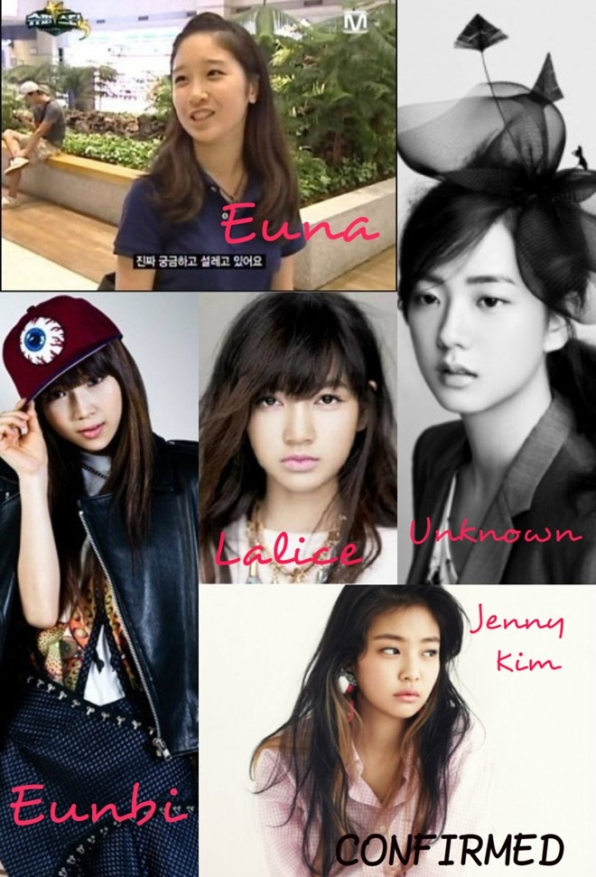 Nhóm nhạc nữ mới của YG.