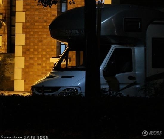 Chiếc xe riêng được chuẩn bị cho Dương Mịch