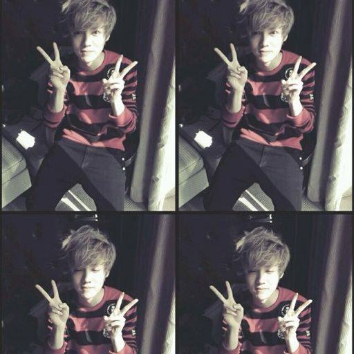 Luhan (EXO) sau khi từ Hàn Quốc trở về Bắc Kinh để nghỉ Tết, vào thời khắc chuyển giao năm cũ và năm mới, anh chàng đã thay đổi ảnh đại diện của mình trên trang weibo cá nhân. Hình ảnh nhí nhố và đáng yêu này ngay khi đăng tải đã được cộng đồng fan chia sẻ rất nhiều